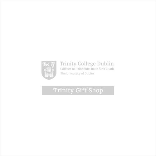 Burgundy Trinity College Hoodie With College Seal